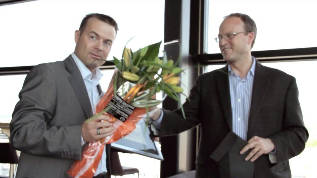 Kjell Gangdal at d2o Educator of the Year