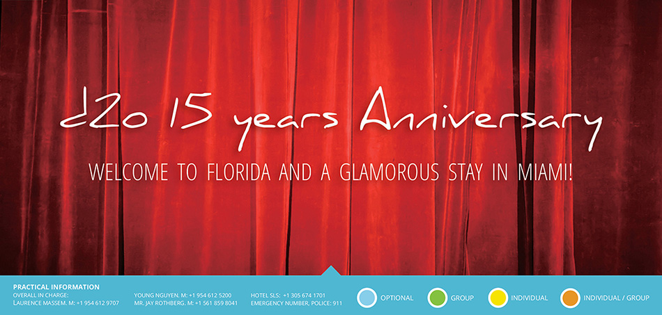d2o 15 Years Anniversary in Miami Florida – September 2015