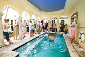 Pool Party at the Mansion