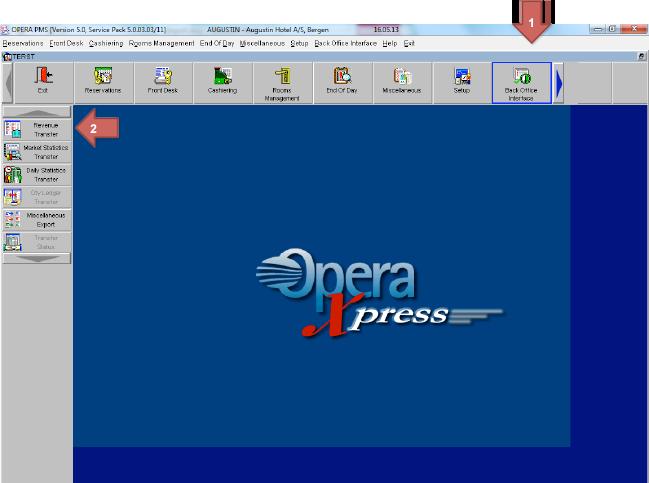 Opera - Manual Export, Report 3B