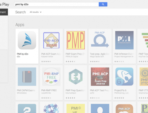 PMI for Android devices available via Google Play!