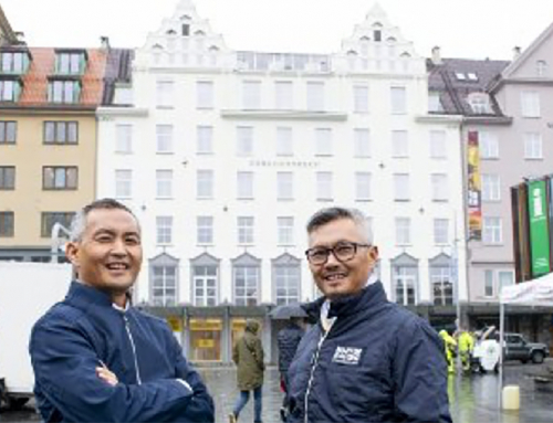 d2o COO and CEO on the front cover of the Norwegian newspaper BA (Bergens Avisen)